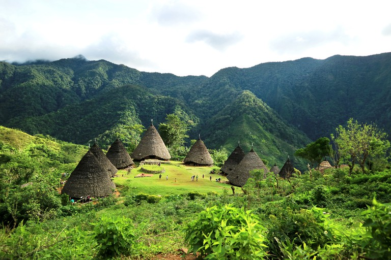 Wae Rebo Village in Flores, Indonesia