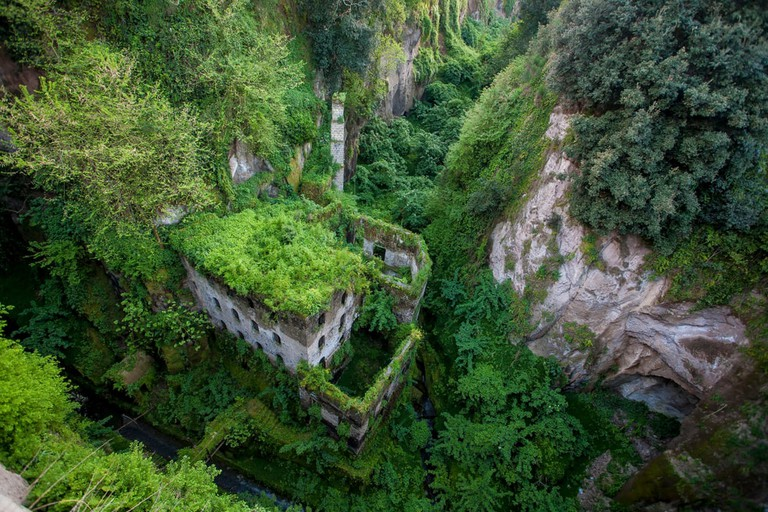 The Valley of the Mills in Sorrento, Italy.