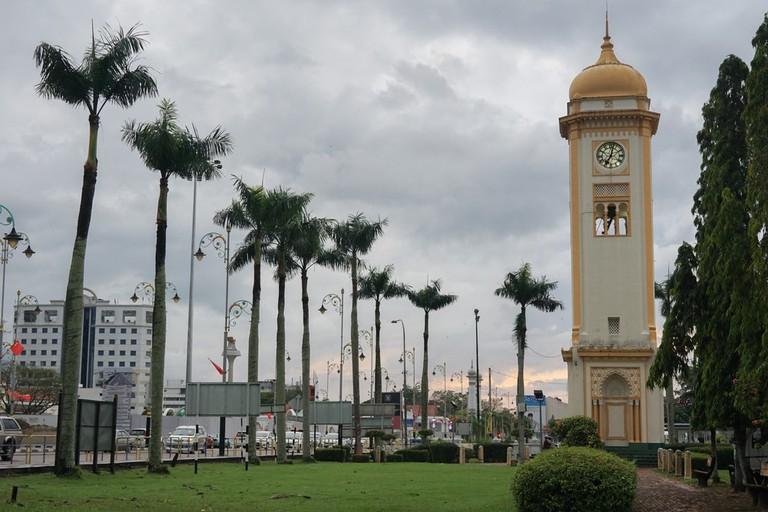 Clock tower in Alor Setar, Kedah, Malaysia.
