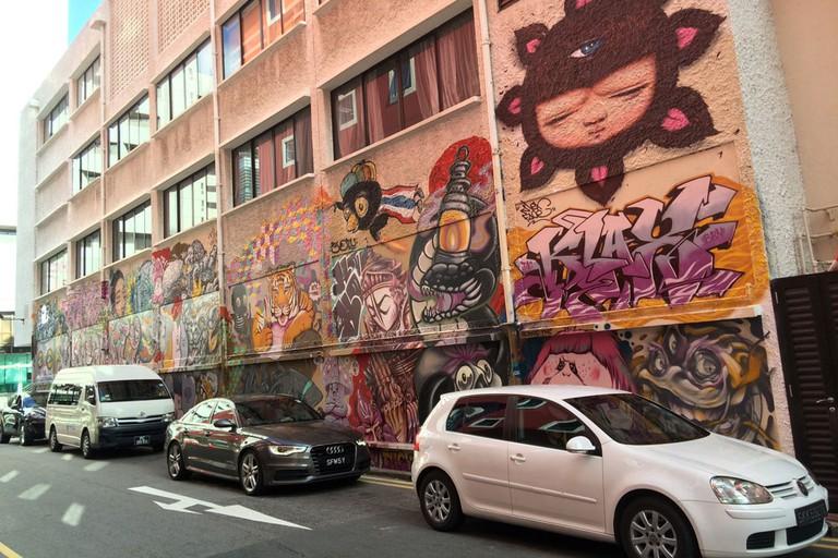 Singapore Street Art - 222 Queen Street