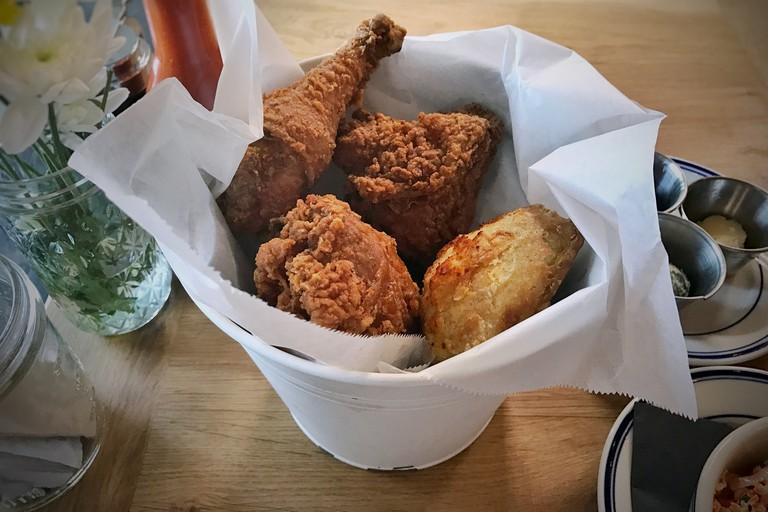 Sweet Chick is a fave amongst celebrities and locals alike for their fried chicken and waffles.