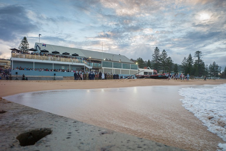 The Beach Club Collaroy on Anzac Day © The Beach Club Collaroy / Javier Baladron