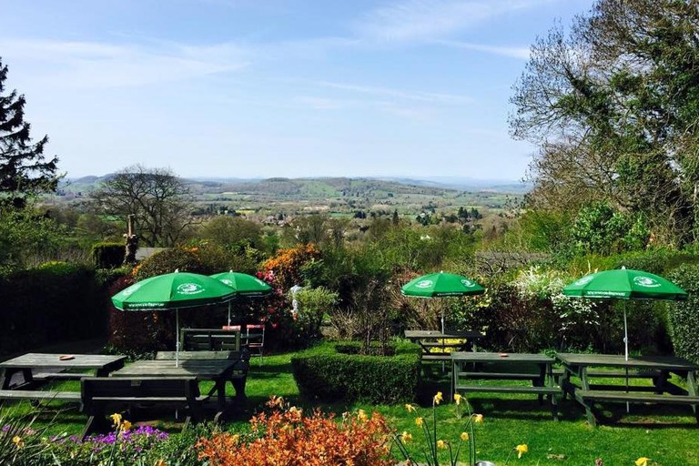 Views from The Chase Inn, Malvern