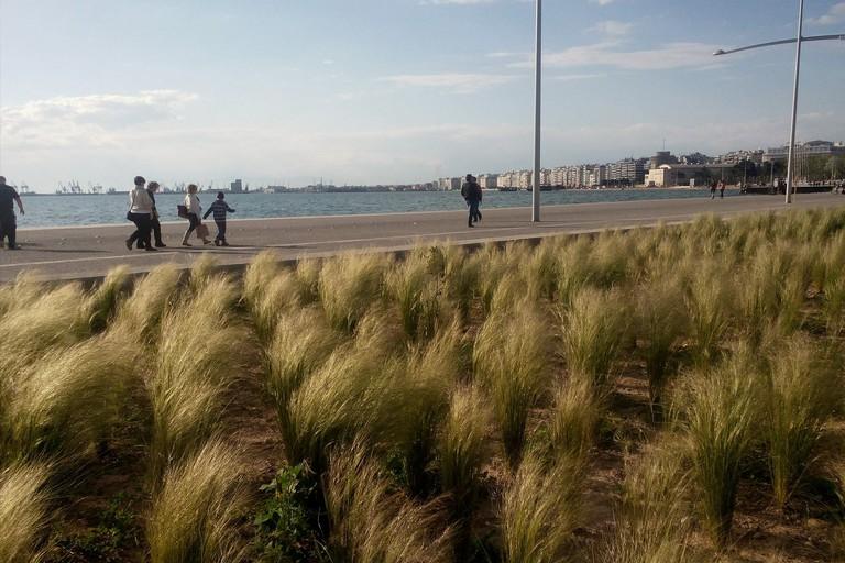waterfront of Thessaloniki