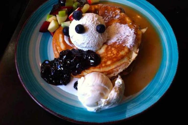 Scrumptious Fruity Pancakes