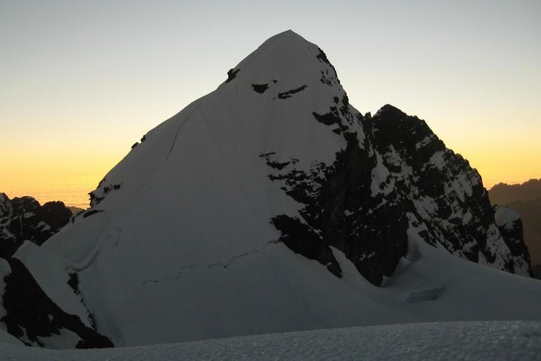 climbing bolivia south america