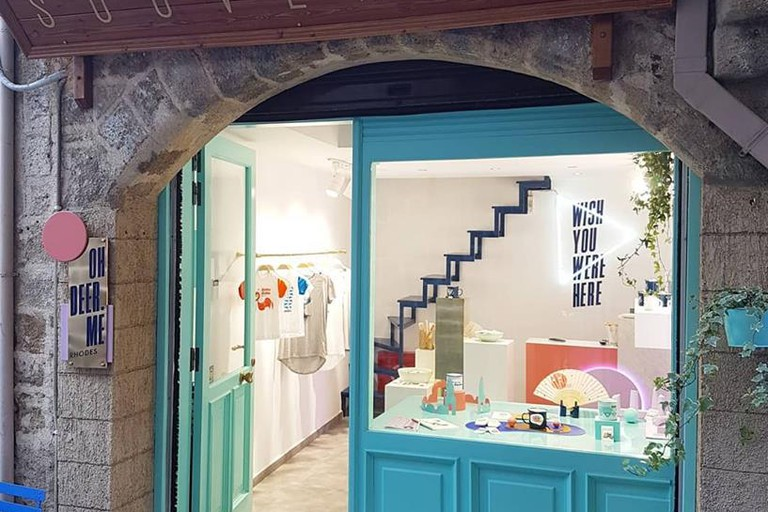 OhDeer.Me store in Rhodes' Old Town