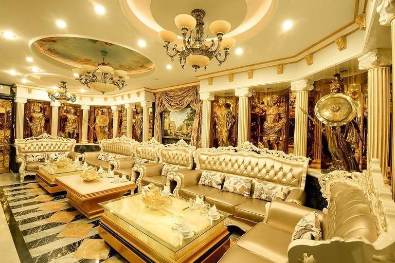 Kingdom Karaoke's opulent interior