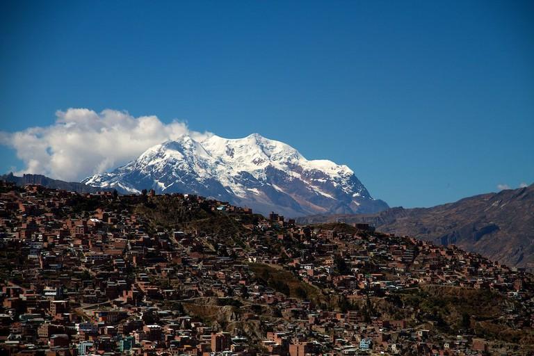Illimani, La Paz