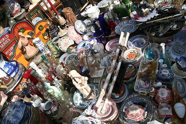 Monastiraki flea market