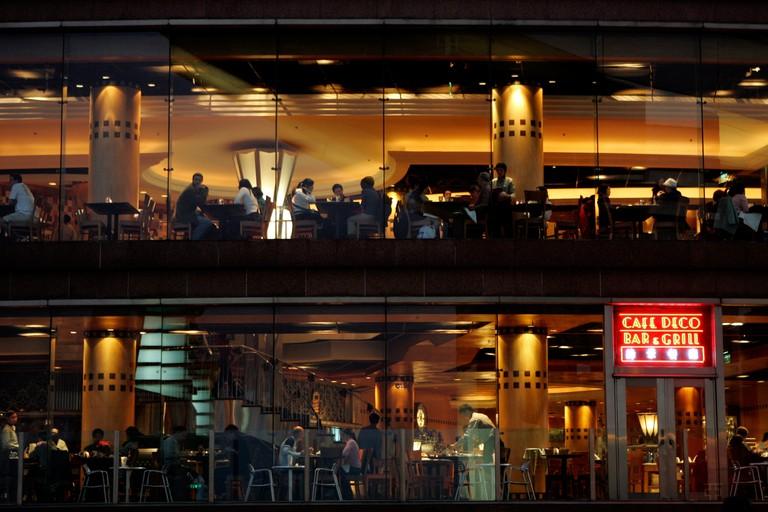 Peak Cafe, Hong Kong.