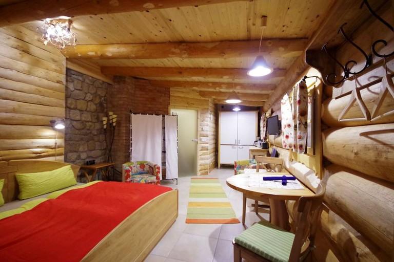 Log house in Dresden
