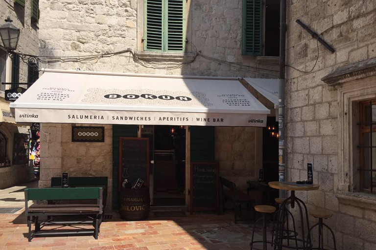 Welcome to Bokun Wine Bar in Kotor, Montenegro