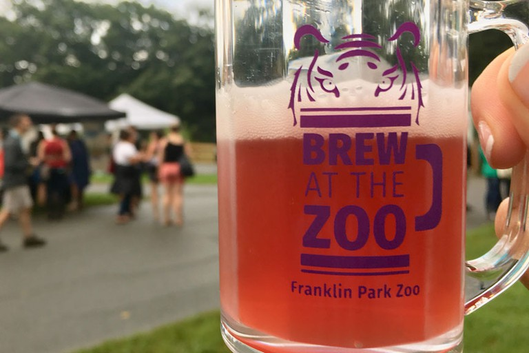 Brew at the Zoo at the Franklin Park Zoo