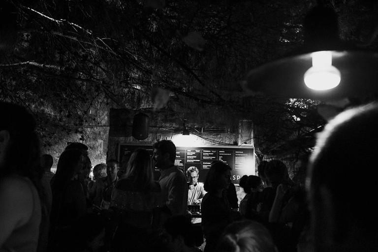 Another classy night at Casper Bar in Budva, Montenegro