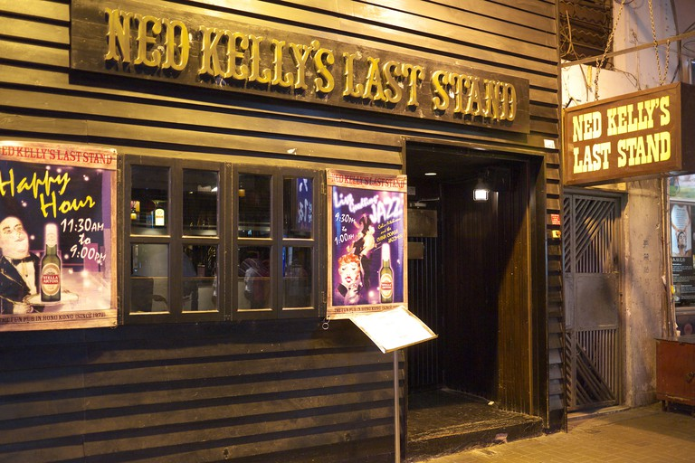 Ned Kelly's Last Stand pub in Kowloon, Hong Kong
