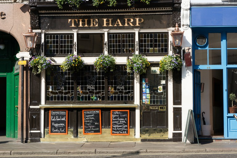 The Harp has a range of beers on draught