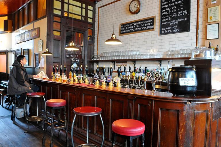 The Southampton Arms pub, Kentish Town, London
