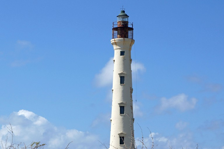 California Lighthouse, landmark of Aruba.