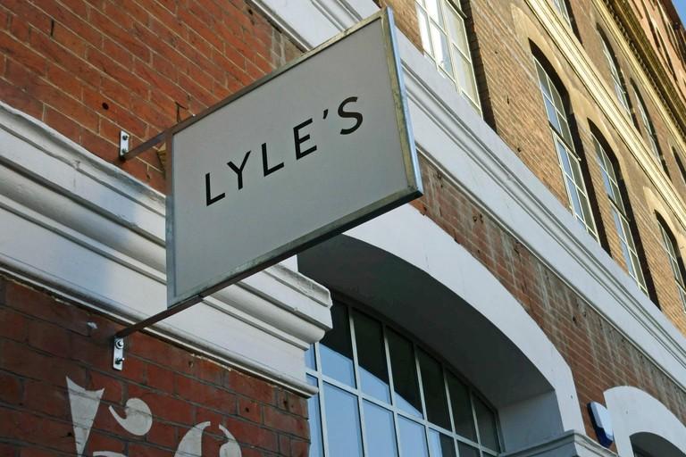 Lyle's British food restaurant, Shoreditch, London. Image shot 2014. Exact date unknown.
