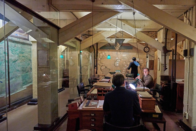 The Churchill War Rooms is a museum in London and one of the five branches of the Imperial War Museum