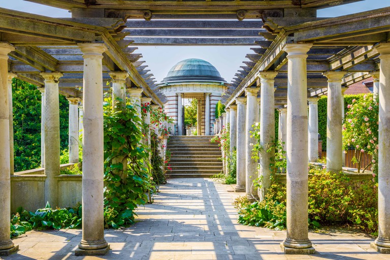 Hampstead Pergola and Hill Garden in London
