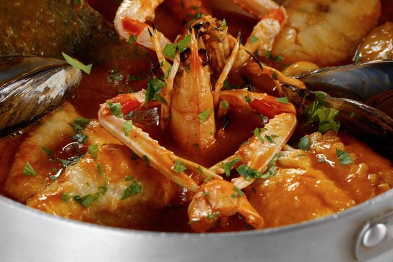 Seafood at Es Baluard in Cadaqués