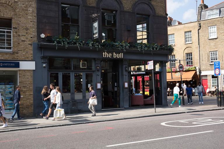 The Bull, Upper Street Islington London