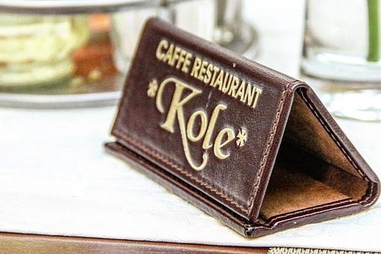Kole is one of the most popular restaurants in Cetinje, Montenegro