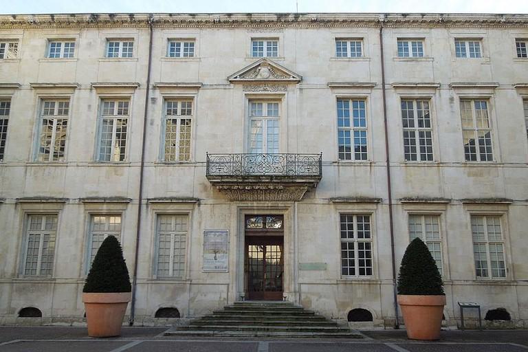 Nîmes,Ecusson,ancien_évêché_1