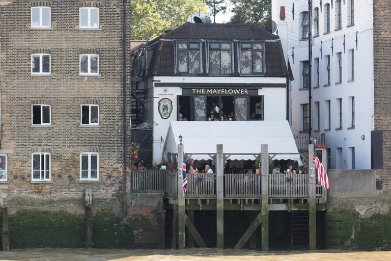 The Mayflower Pub Rotherhithe, London