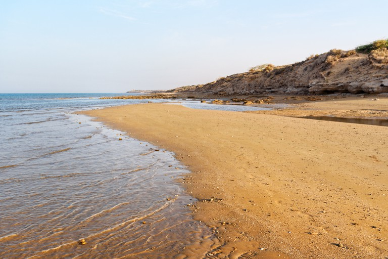 Wild beach, Bushehr Province, Iran