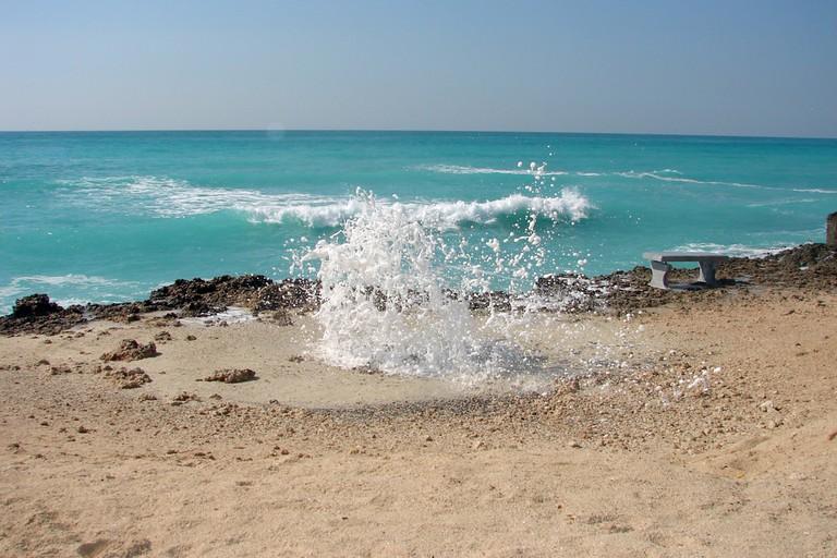 Kish island, Persian gulf