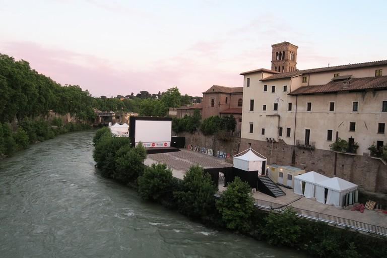 L'isola del Cinema, Rome