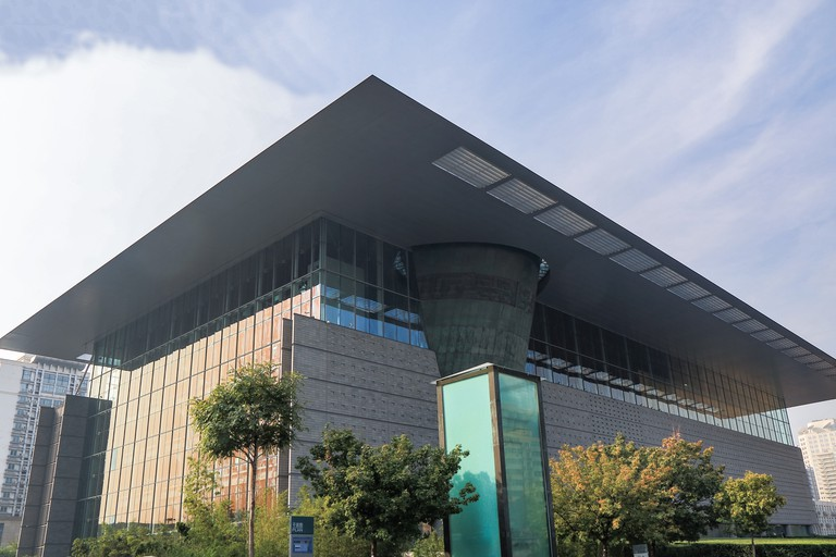 The Capital Museum houses artefacts from Beijing's past