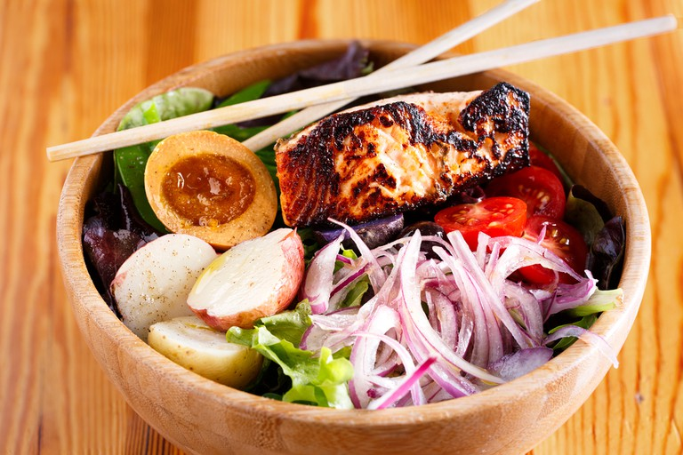 Asian Bowl with Salmon