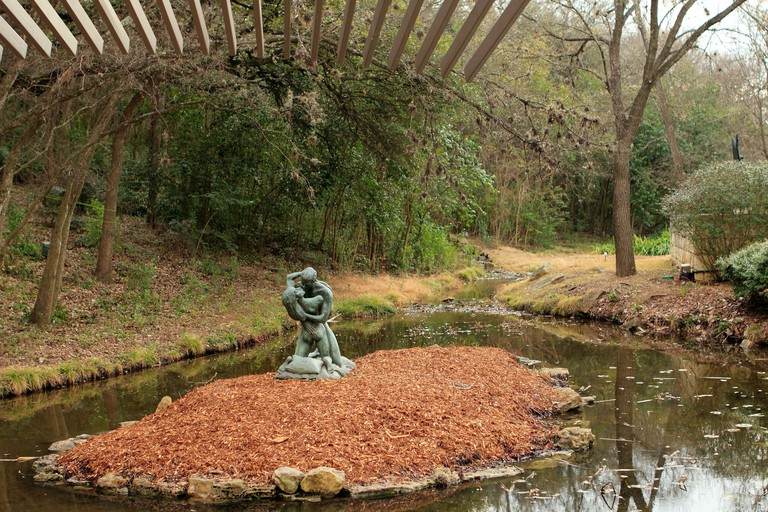 Umlauf Sculpture Garden and Museum in Austin, Texas, USA.