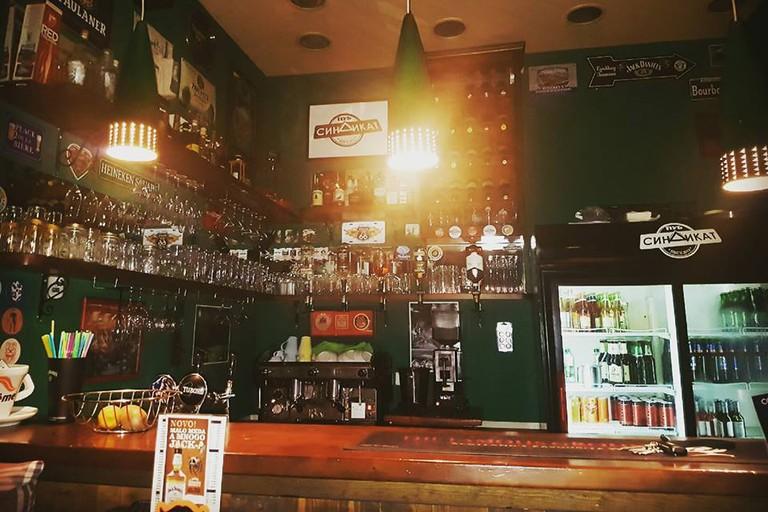 Sindikat is a pub lover's pub in Bar, Montenegro