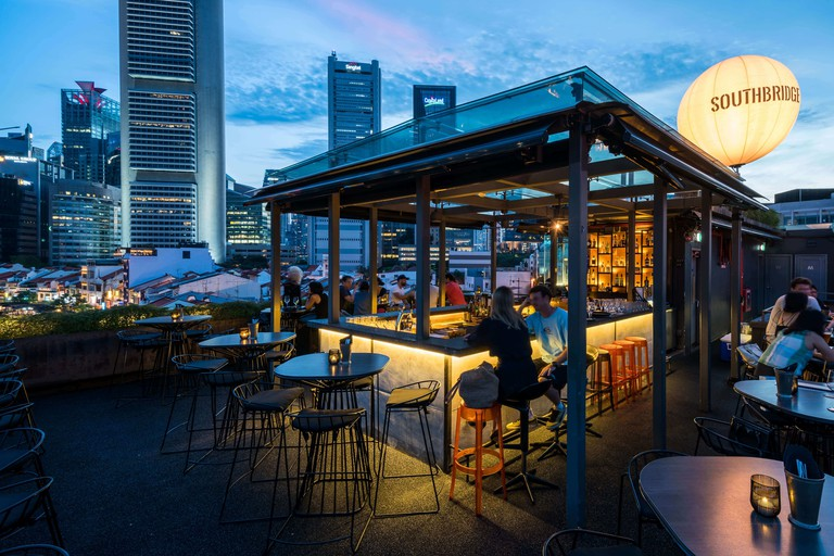 Southbridge is located in the bustling heart of Boat Quay