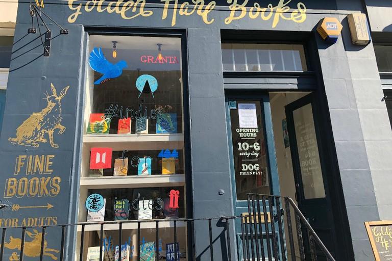 Golden Hare Books in Edinburgh is a treat for bibliophiles
