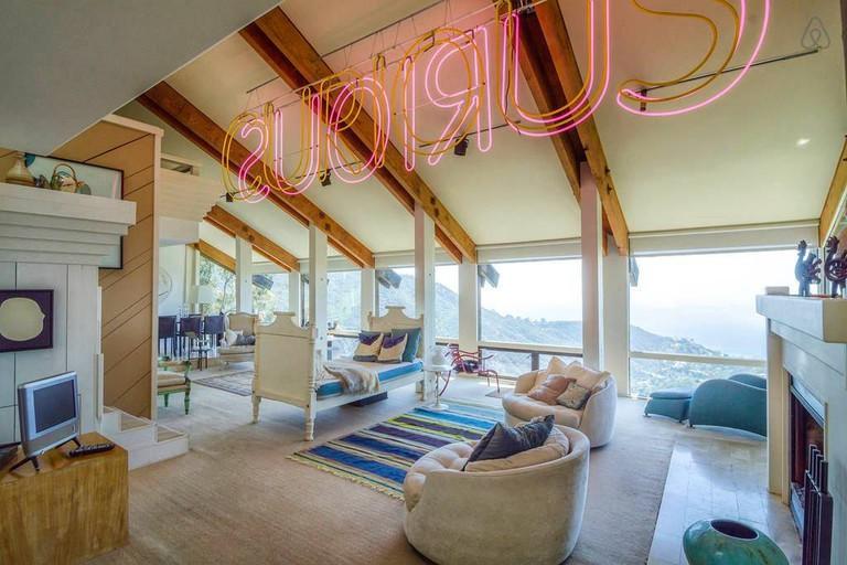 Ocean View Malibu Mountain Retreat