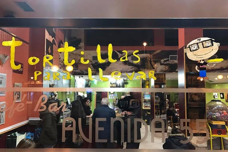 Cafeteria Avenida 55, Logroño