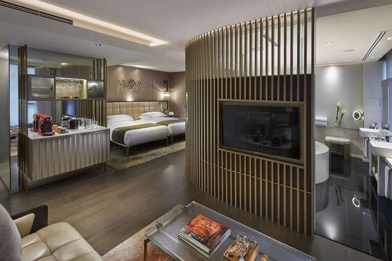 There are 111 suites at The Landmark Mandarin Oriental, Hong Kong