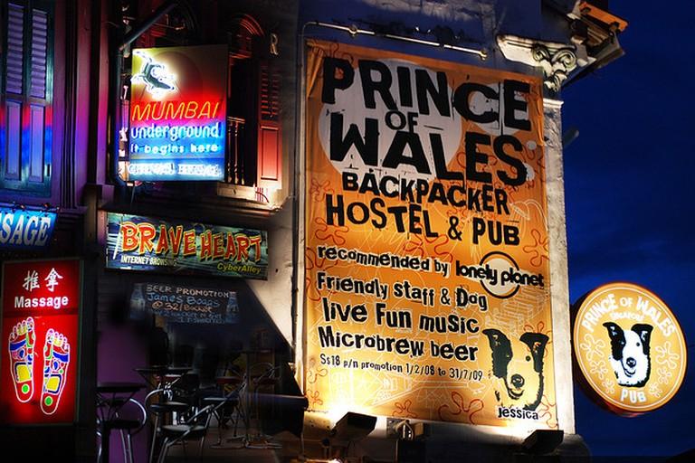 Poster at Pub