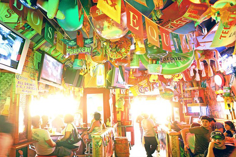 Interior of Cabo Cantina Brentwood
