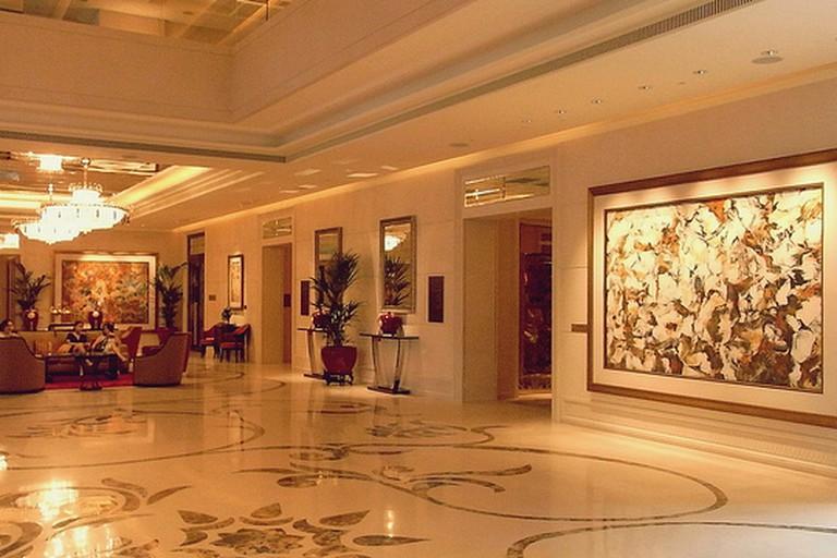 Lobby at St Regis