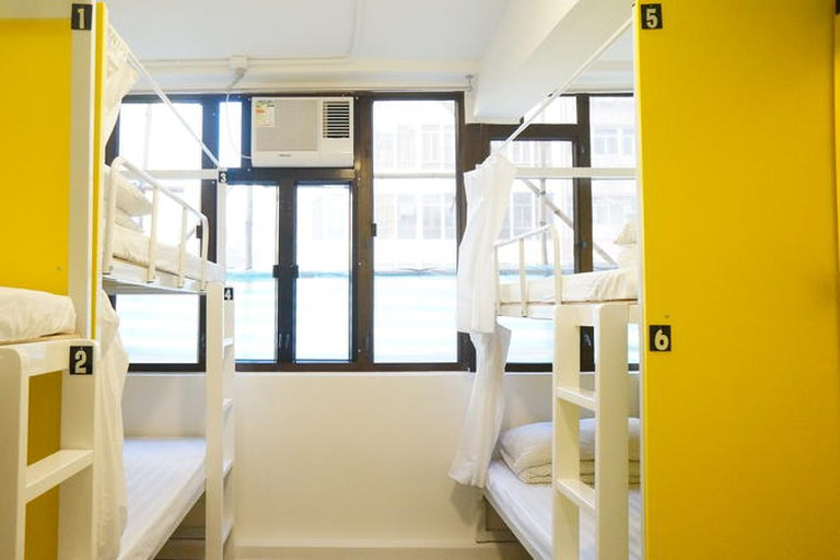 Rainbow Lodge HK offers spacious dormitories