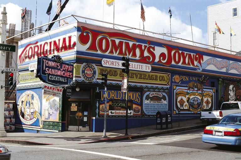 Tommy's Joynt Diner, San Francisco, California, USA.