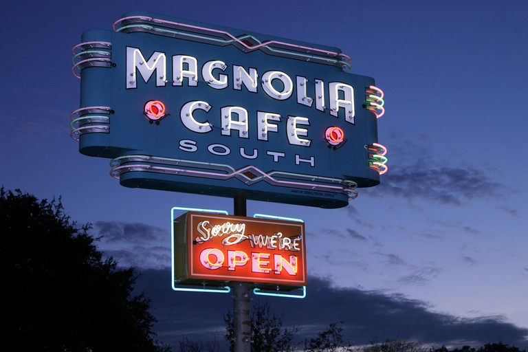 Magnolia Cafe, Austin, Texas, USA.