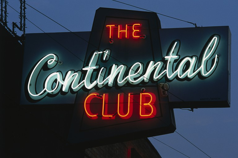 The Continental Club, Austin, Texas, USA.